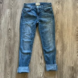 Current/Elliot the cuffed skinny jeans